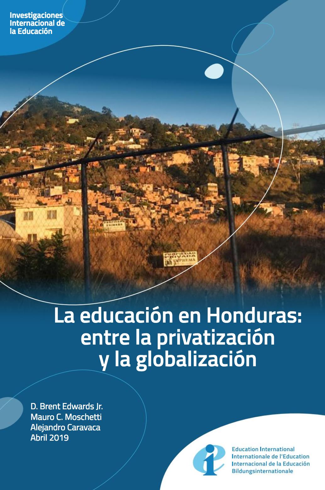 La Educación en Honduras: entre la privatización y la globalización