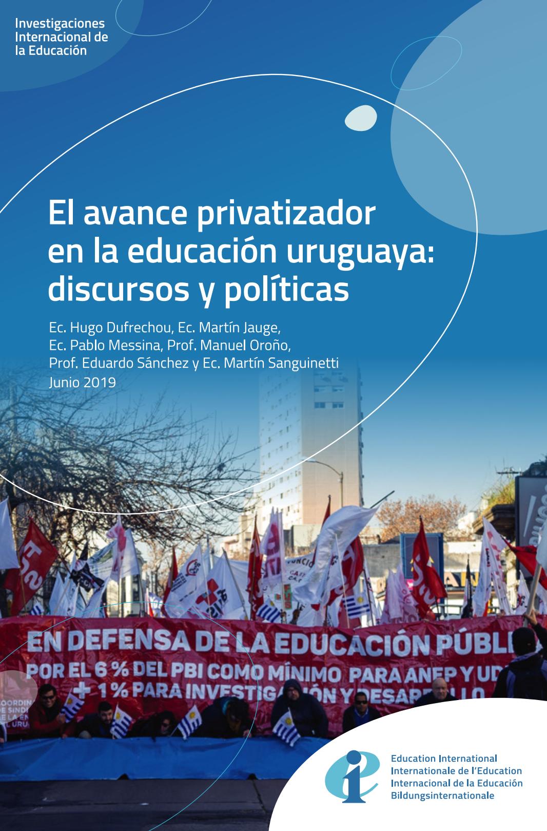 El avance privatizador en la educación pública uruguaya