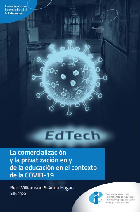 La comercialización y la privatización en y de la educación en el contexto de la COVID-19