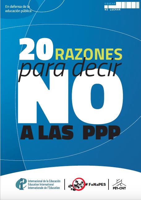 20 razones para decir no a las PPP
