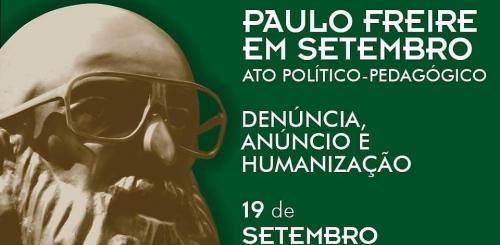 Acto Político Pedagógico Paulo Freire