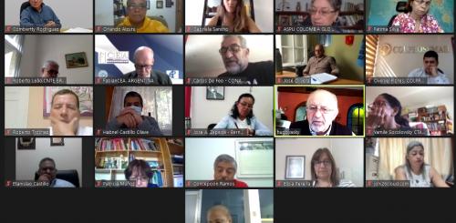 Reunión del Comité Regional IEAL, abril 2021