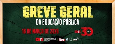 Huelga General de Educación Pública CNTE Brasil