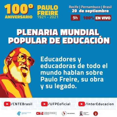 Plenaria Mundial Popular de Educación Freire 100