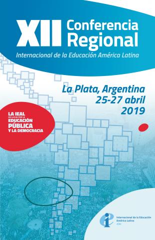 Afiche de la XII Conferencia Regional de la IEAL