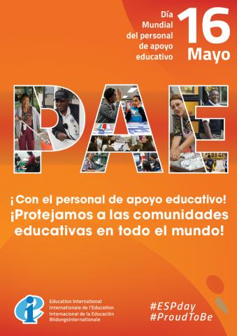 Poster Día del Personal de Apoyo Educativo 2020