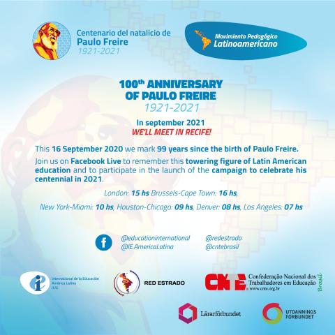 Invitación Freire 100 EN