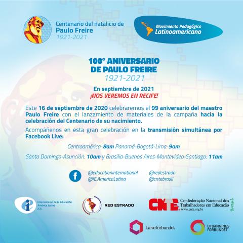 Invitación Freire 100 ES