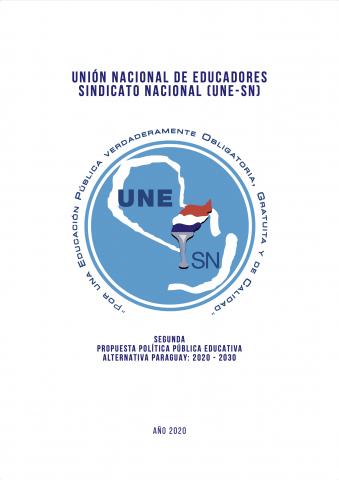 Portada Propuesta de Política Pública Educativa UNE-SN