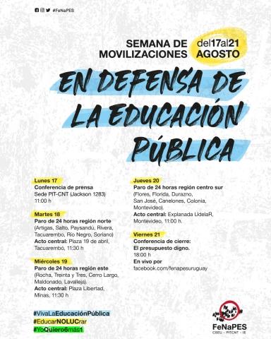 Semana de Movilización FeNaPES