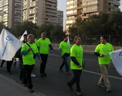 Chile: Marcha de la decencia por la educación pública con calidad