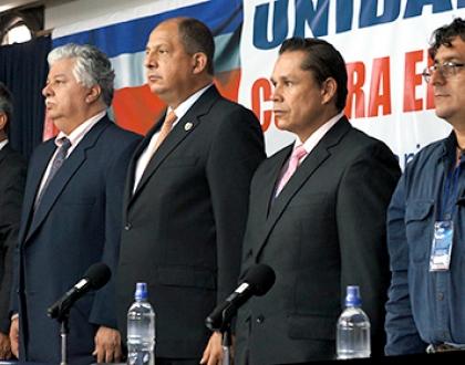Sindicatos ticos proponen agenda de desarrollo al Presidente de la República