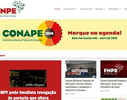 Brasil: Organizaciones de la educación lanzan portal del Foro Nacional Popular de la Educación