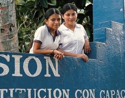 Escuela en El Salvador