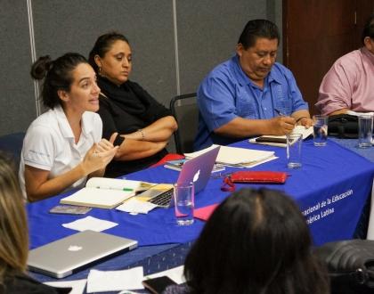 RED de Trabajadoras de la Educación en El Salvador
