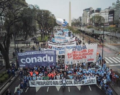 Paro Nacional Educativo Argentina