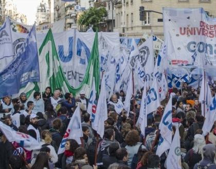 Manifestación CONADU Argentina