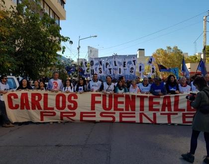 Justicia Completa para Carlos Fuentealba