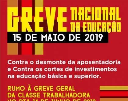 Huelga Nacional de Educación en Brasil
