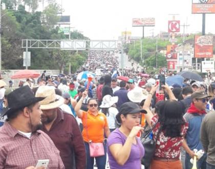 Movilizaciones en Honduras