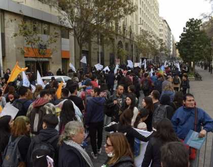 Paro Nacional indefinido en Chile
