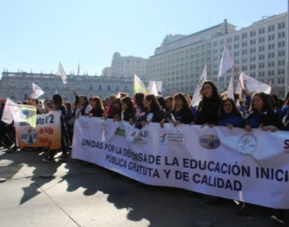Movilización por la Educación Inicial pública