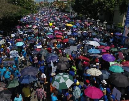 Movilización en República Dominicana