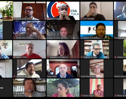 Videoconferencia Comité Regional IEAL
