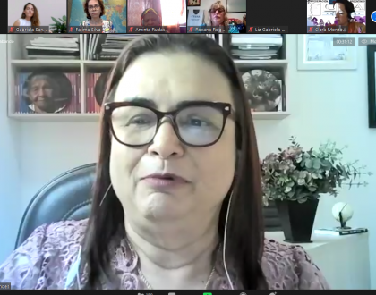 """Conferencia virtual """"Participación política de las mujeres en los espacios de poder"""""""
