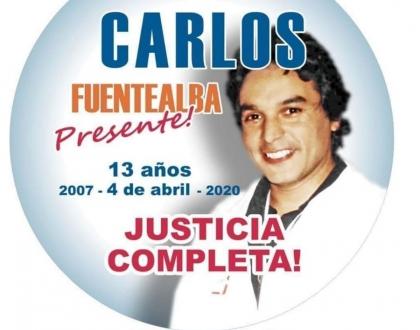 Carlos Fuentealba presente