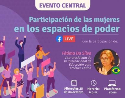Participación de las mujeres en los espacios de poder