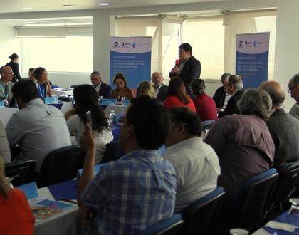 Encuentro regional en Colombia