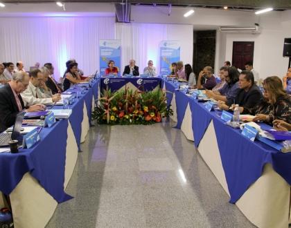 Reunión Presidencias Secretarías Generales