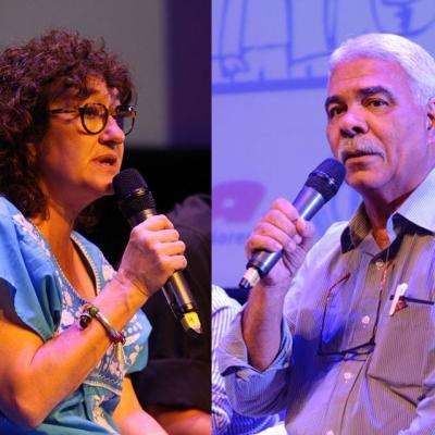 Sonia Alesso y Roberto Leão en la Cumbre de los Pueblos, Argentina