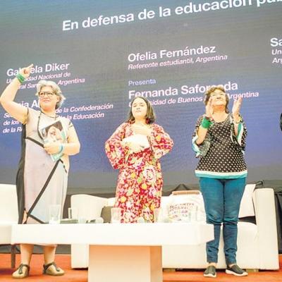 Sonia Alesso en Foro de CLACSO
