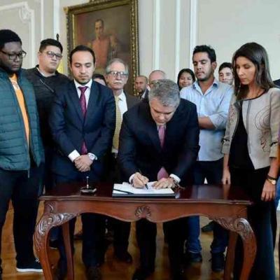 Acuerdo Estudiantes Colombia