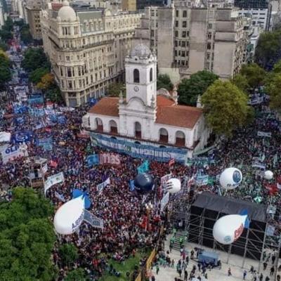 Paro Nacional en Argentina
