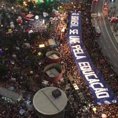 Movilización en São Paulo