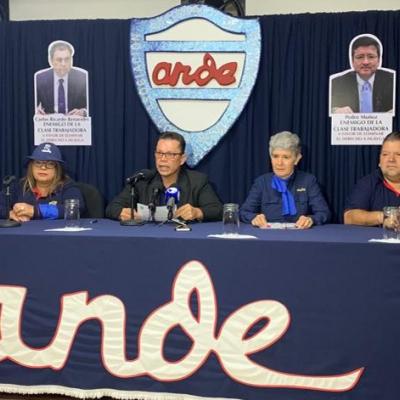Conferencia de prensa ANDE
