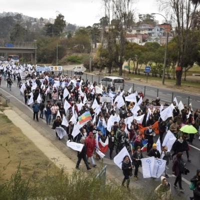 Continúa Paro Indefinido en Chile