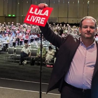 Lula libre - Congreso Mundial