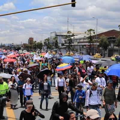 Paro Nacional de 24 horas en Colombia