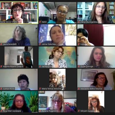 Tercera Conferencia virtual de la RED
