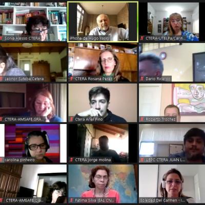 Encuentro virtual de cierre 2020