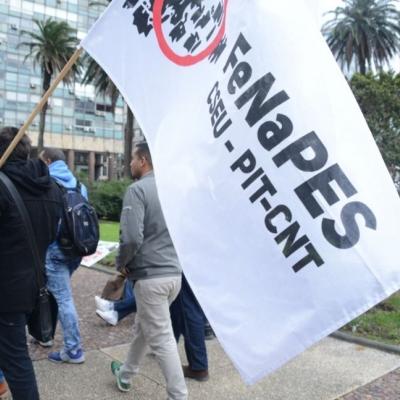 Sindicatos uruguayos contra ley urgente