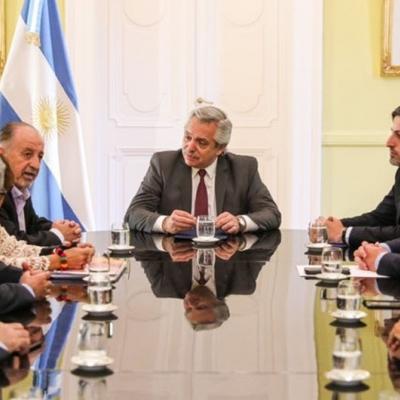 Reunión con el Presidente Alberto Fernández