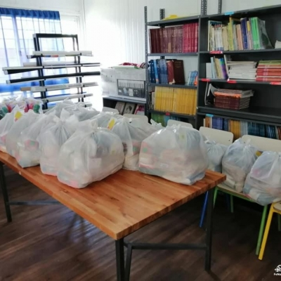 Alimentos para reparto ante emergencia sanitaria