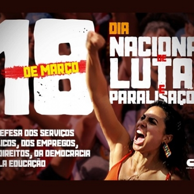 18 de marzo, Día Nacional de Luchas en Brasil