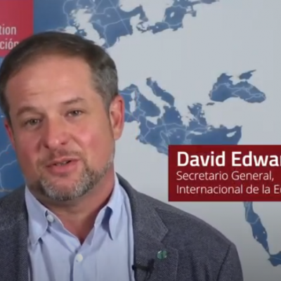 David Edwards, Secretario General IE
