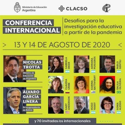 Conferencia Internacional IEAL CLACSO Ministerio de Educación Argentina